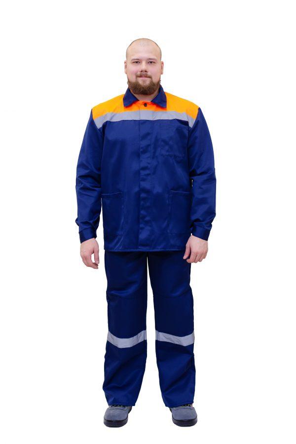 Костюм №200 мужской с брюками
